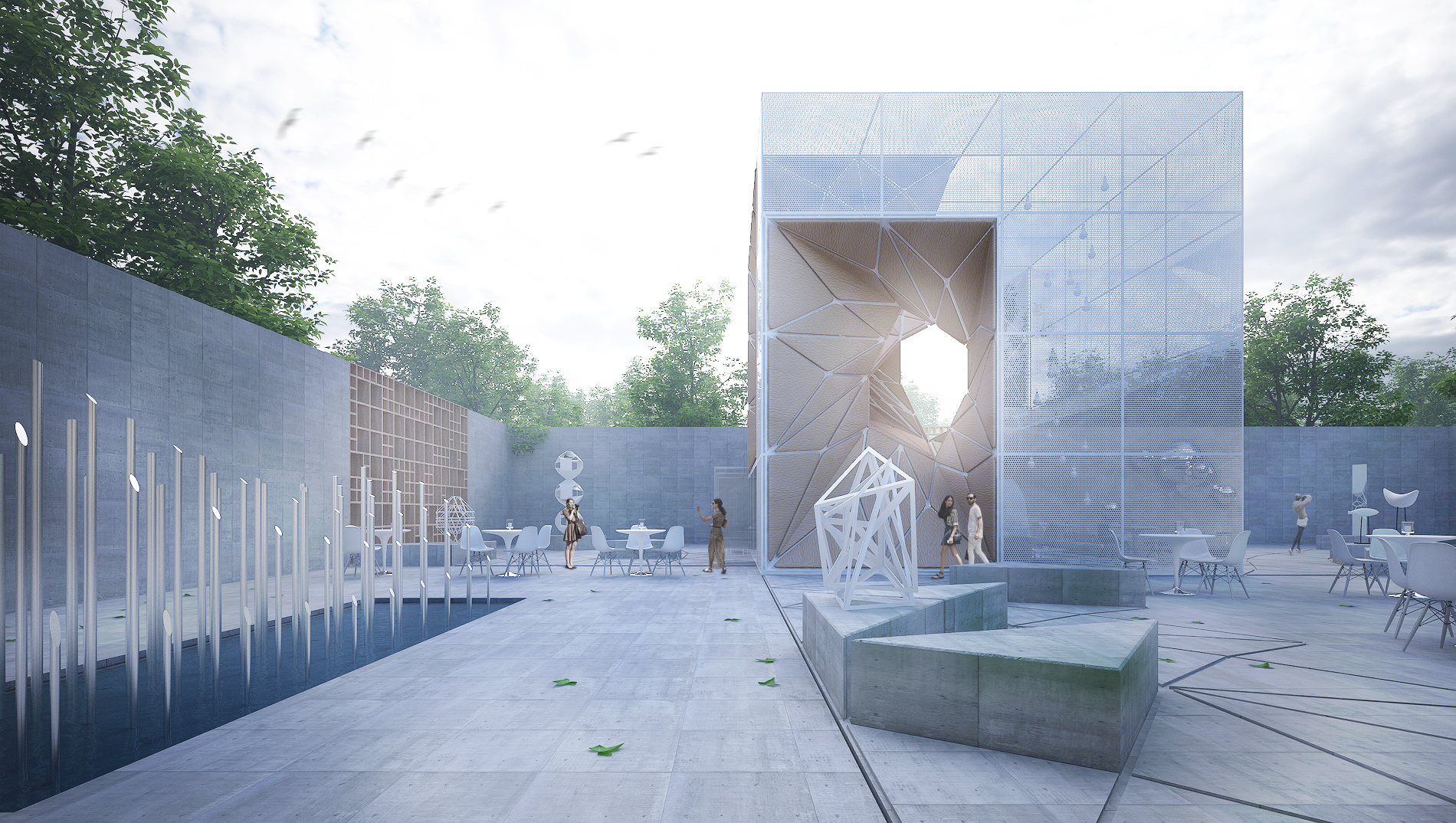 Sculpture Garden/ Museum Extension